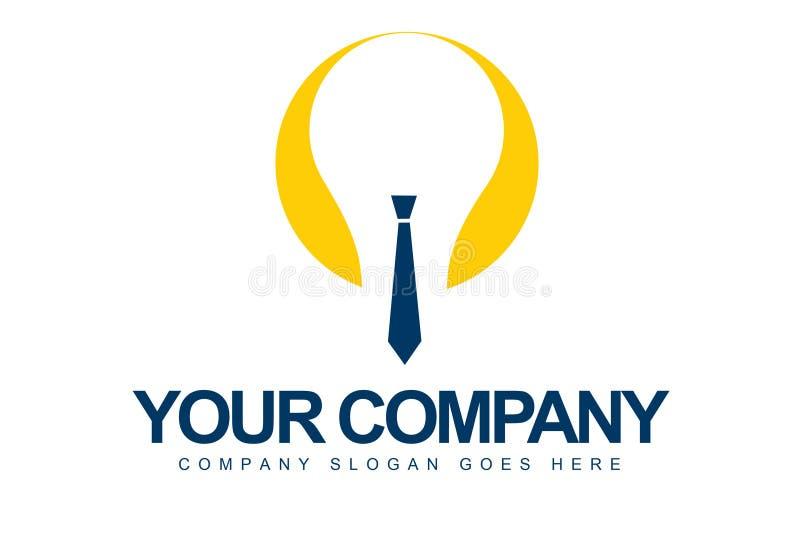 Logotipo de la idea del asunto stock de ilustración