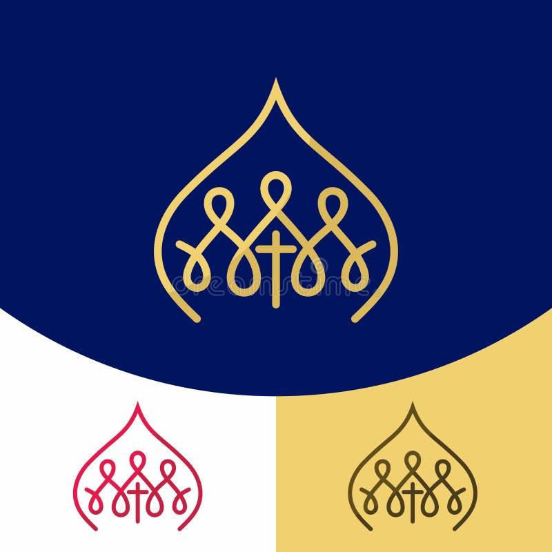 Logotipo de la iglesia Símbolos cristianos Ekklesia Lord Jesus Christ libre illustration