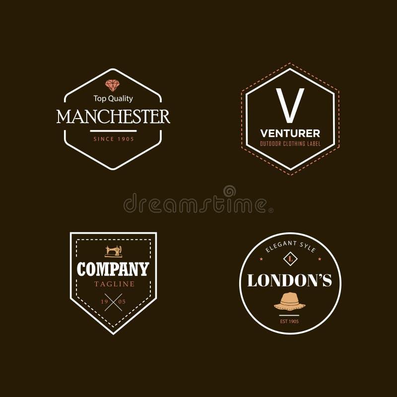 Logotipo de la insignia del vintage stock de ilustración