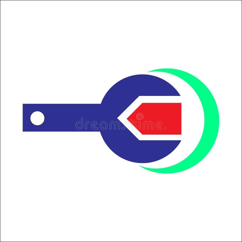 Logotipo de la letra C En stock de ilustración