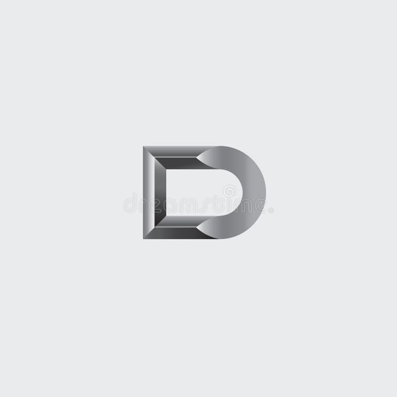 Logotipo de la letra D libre illustration