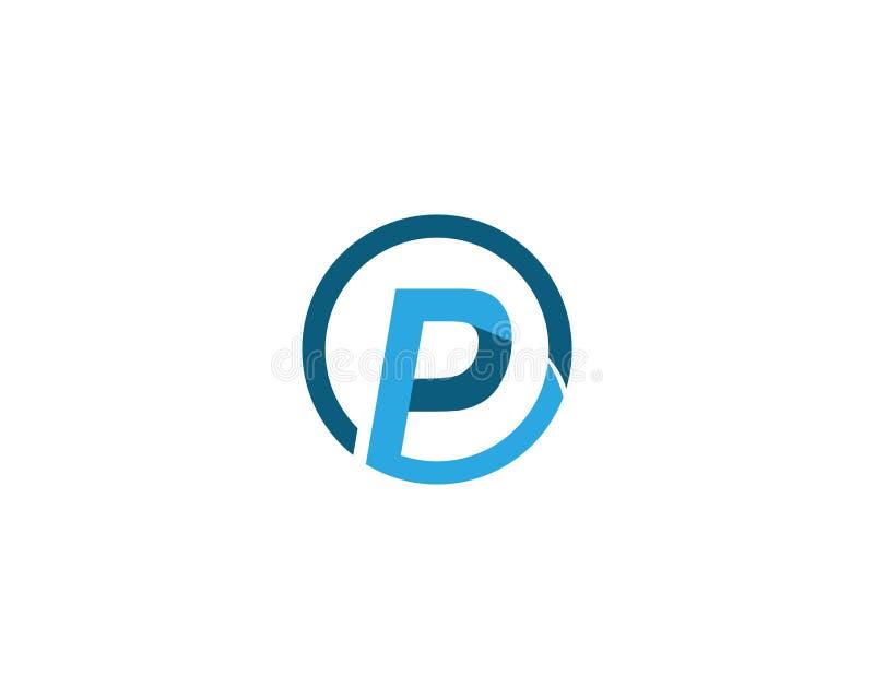 Logotipo de la letra de P libre illustration