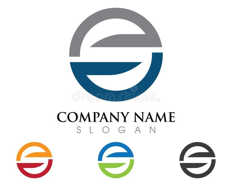 Logotipo de la letra de S stock de ilustración
