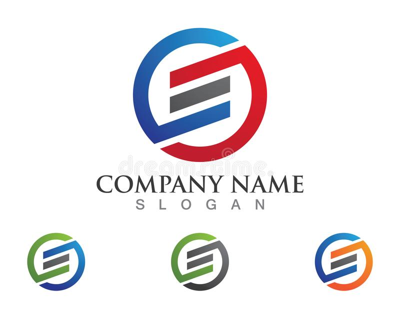 Logotipo de la letra de S libre illustration