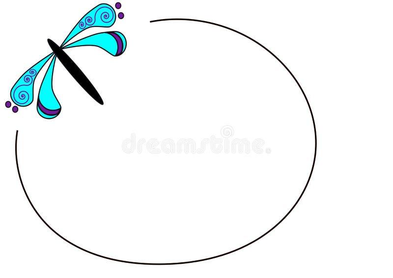 Logotipo de la libélula imágenes de archivo libres de regalías