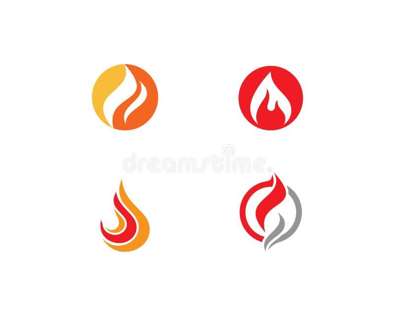 Logotipo de la llama del fuego libre illustration