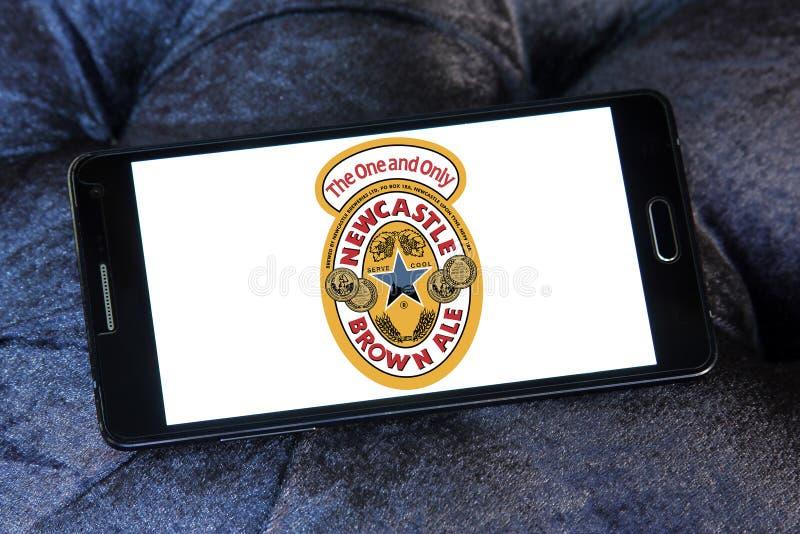Logotipo de la marca de la cerveza inglesa de Newcastle Brown foto de archivo
