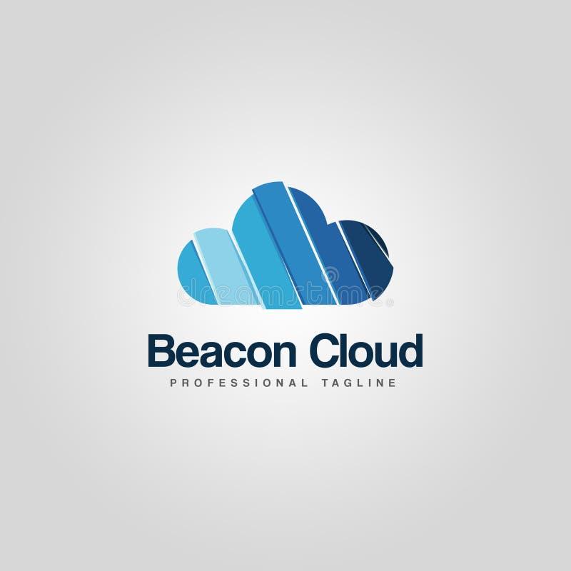 Logotipo de la nube fotografía de archivo