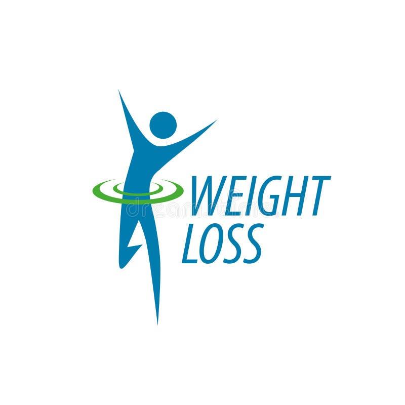 Logotipo de la pérdida de peso libre illustration