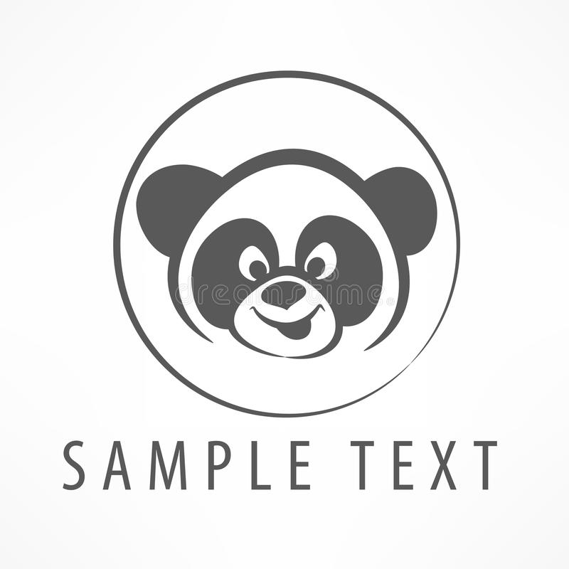 Logotipo de la panda libre illustration