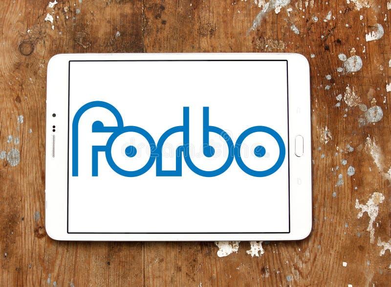 Logotipo de la sociedad de cartera de Forbo imágenes de archivo libres de regalías