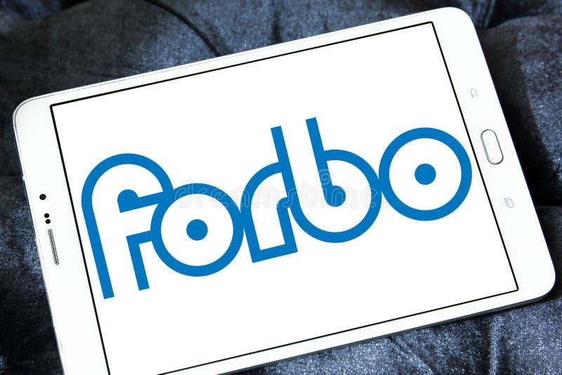 Logotipo de la sociedad de cartera de Forbo fotografía de archivo