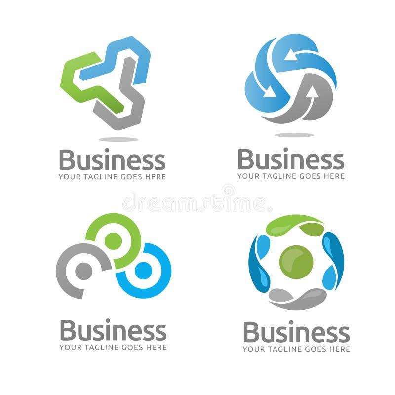 Logotipo de la tecnología ilustración del vector
