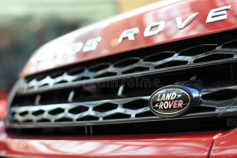 Logotipo de Land Rover imagem de stock royalty free