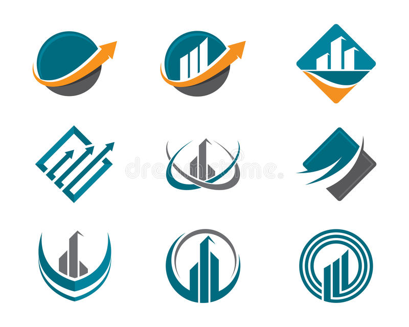 Logotipo de las finanzas libre illustration