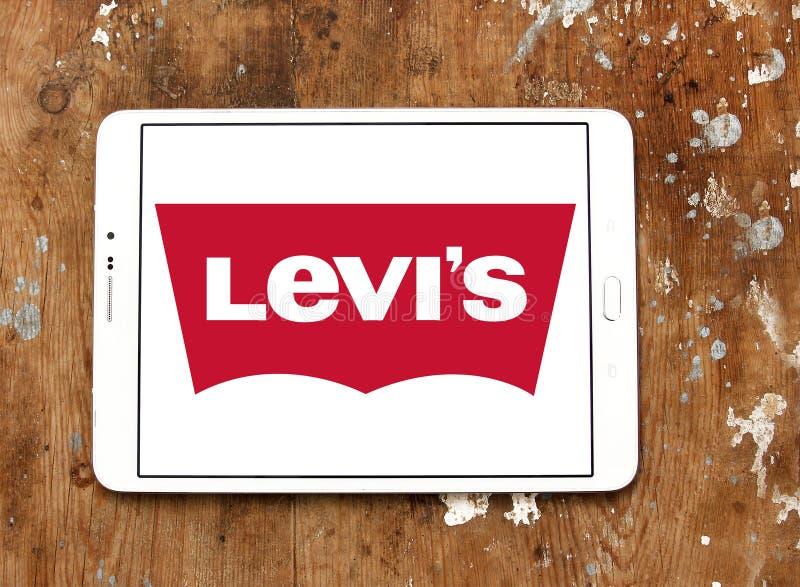 Logotipo de Levis imagem de stock
