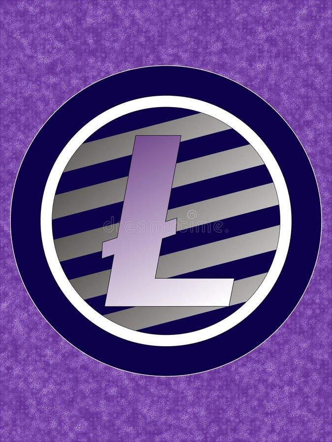 Logotipo de Litecoin stock de ilustración