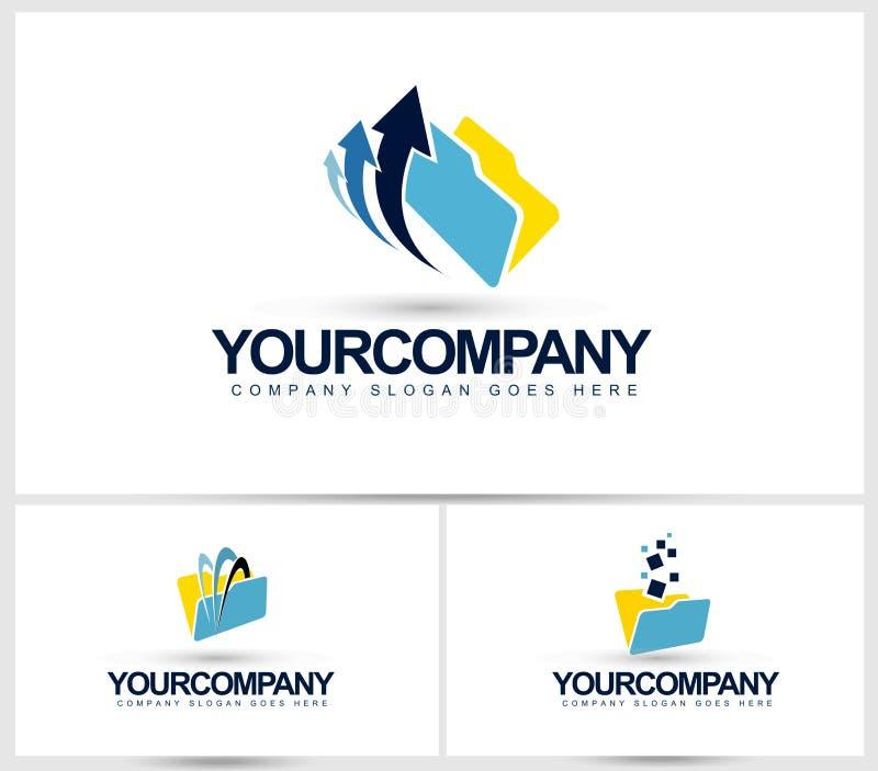 Logotipo de los documentos stock de ilustración