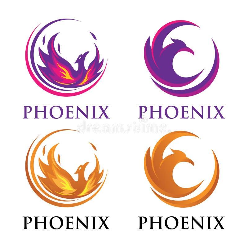 Logotipo de lujo de Phoenix libre illustration
