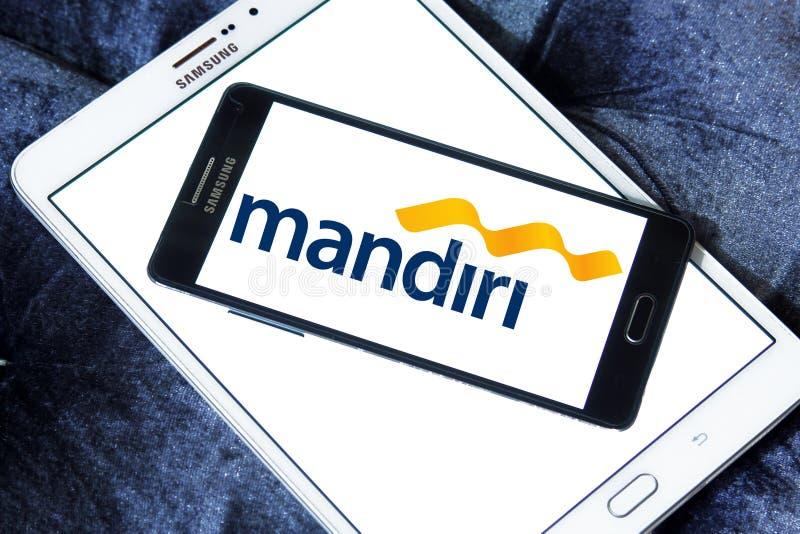 Logotipo de Mandiri del banco fotografía de archivo libre de regalías