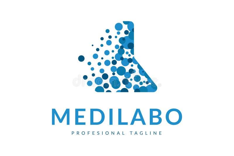 Logotipo de Medilabo foto de archivo