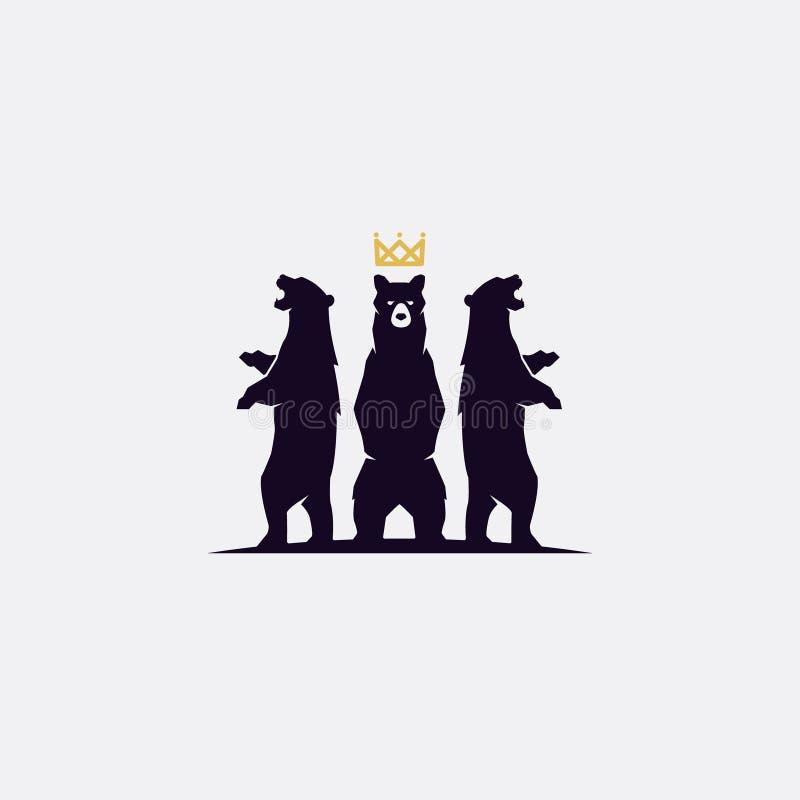 logotipo de 3 osos libre illustration