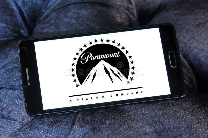 Logotipo de Paramount Pictures fotografia de stock