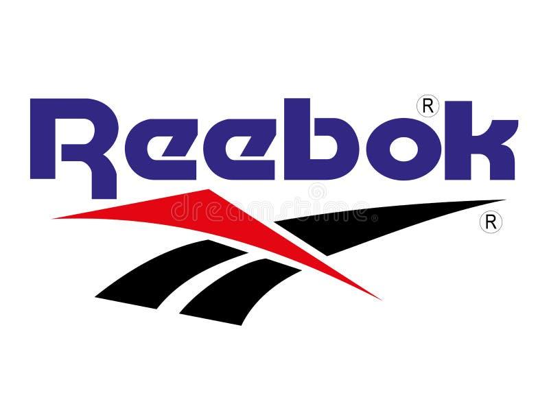 Logotipo de Reebok ilustração do vetor