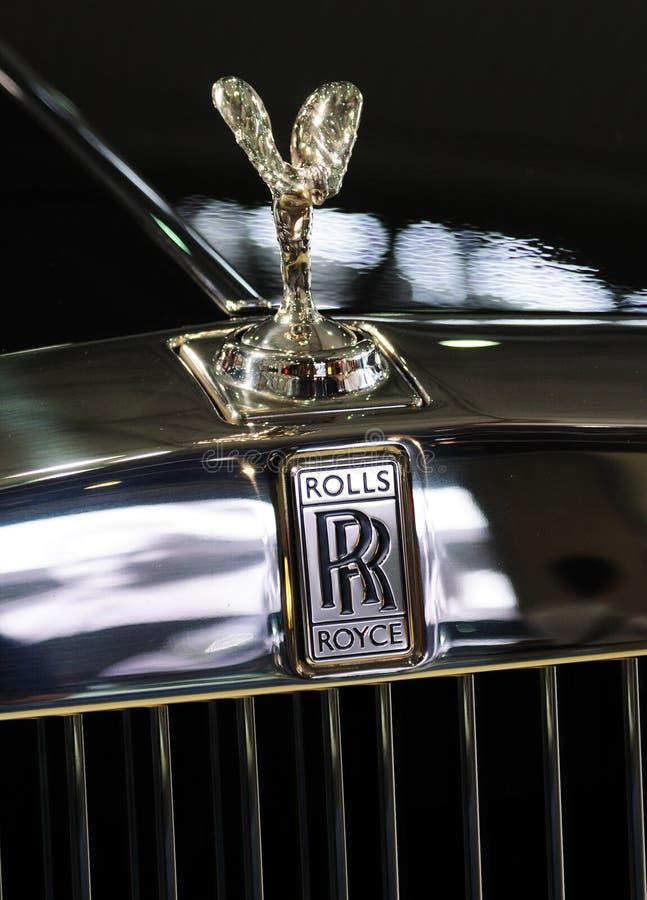 Logotipo de Rolls royce foto de stock