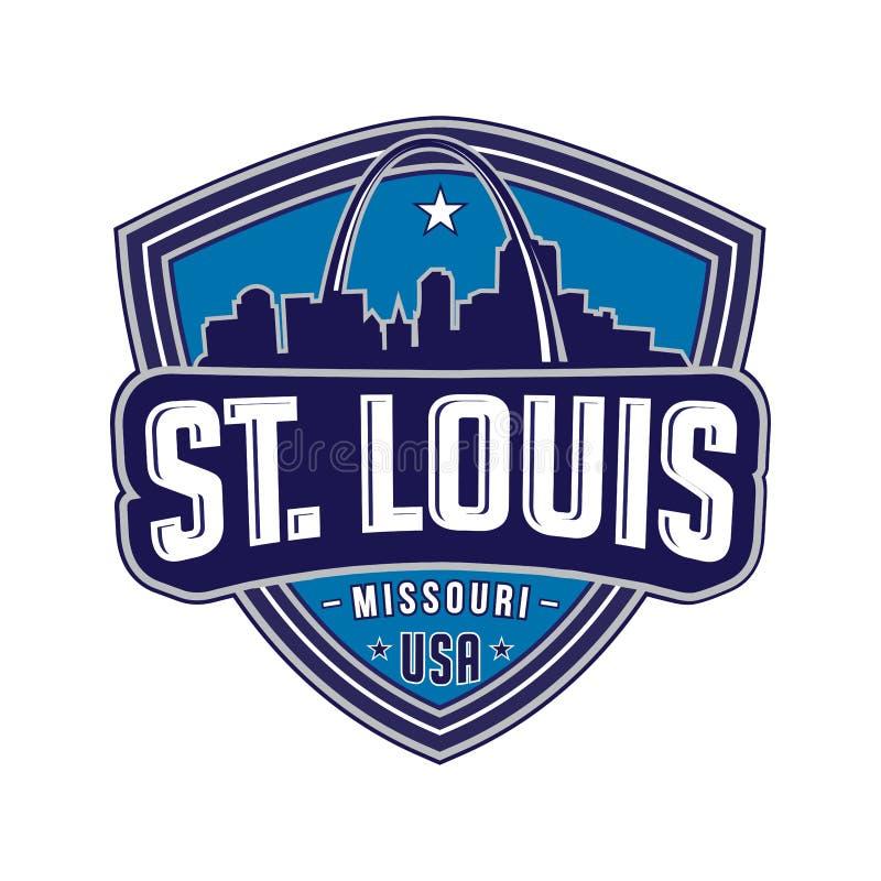 Logotipo de St Louis Vetor e ilustração ilustração do vetor