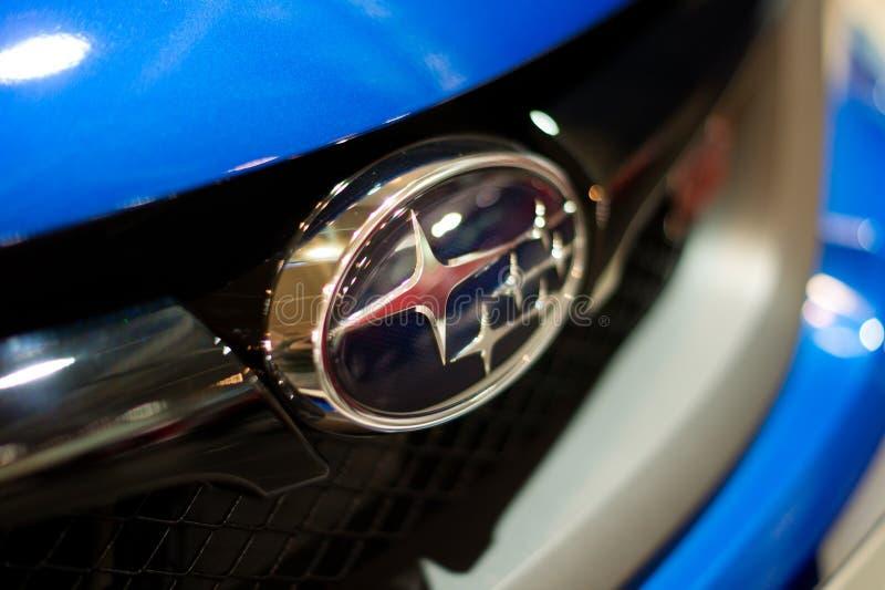 Logotipo de Subaru imagem de stock royalty free