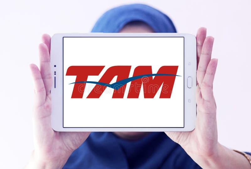 Logotipo de TAM Airlines Brazil imagen de archivo libre de regalías