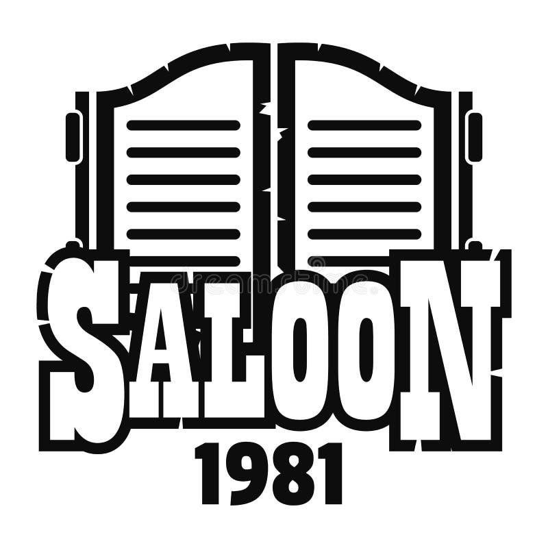 Logotipo de texas do bar, estilo simples ilustração royalty free