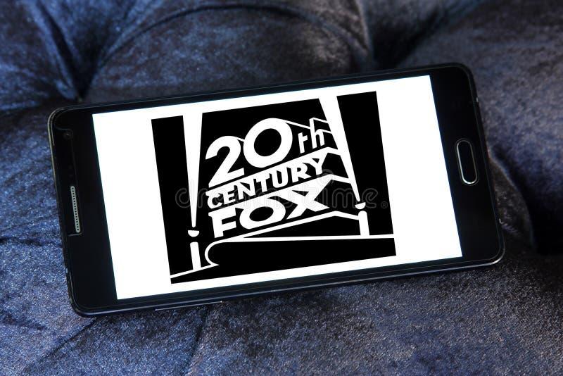 Logotipo de 20th Century Fox fotografía de archivo