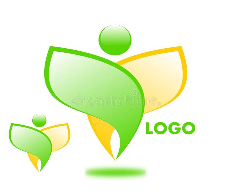 Logotipo de tiragem da empresa ilustração do vetor