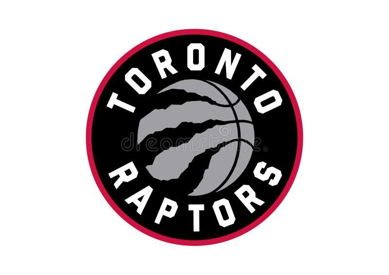 Logotipo de Toronto Raptors ilustração do vetor