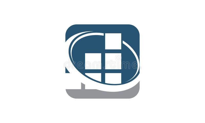 Logotipo de treinamento da solução do negócio do sucesso ilustração royalty free