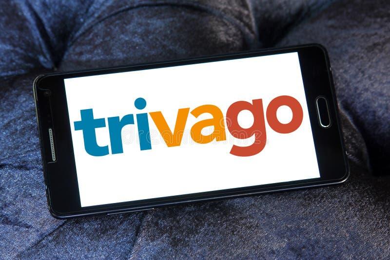 Logotipo de Trivago foto de stock