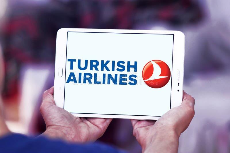 Logotipo de Turkish Airlines fotos de archivo libres de regalías