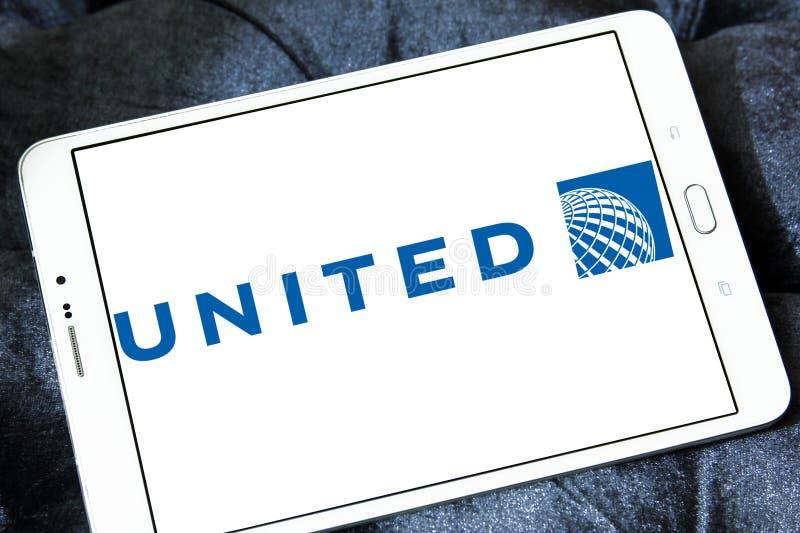 Logotipo de United Airlines imagens de stock