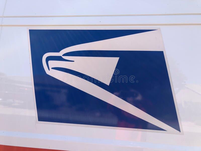 Logotipo de USPS foto de archivo