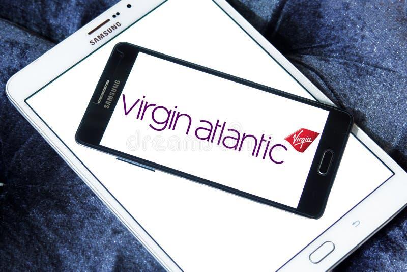 Logotipo de Virgin Atlantic Airways foto de stock royalty free