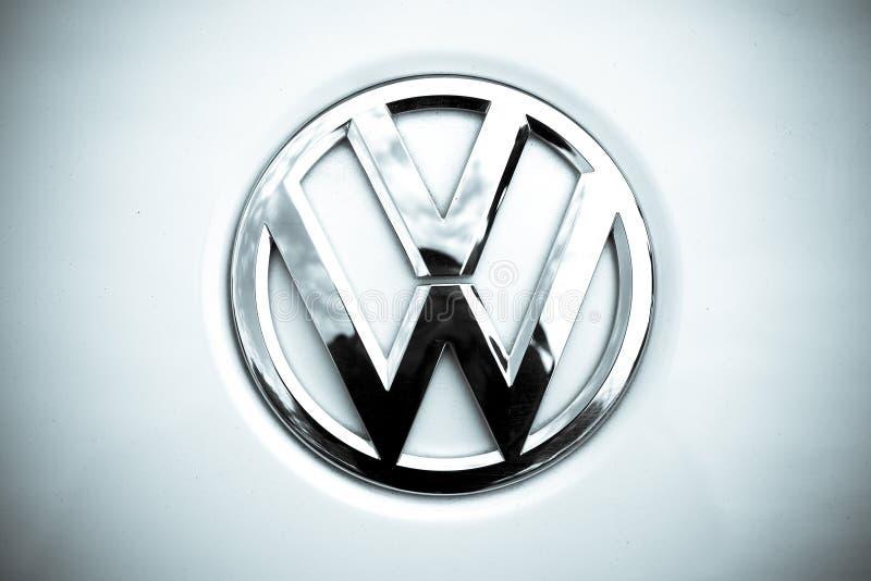 Logotipo de Volkswagen fotos de stock royalty free