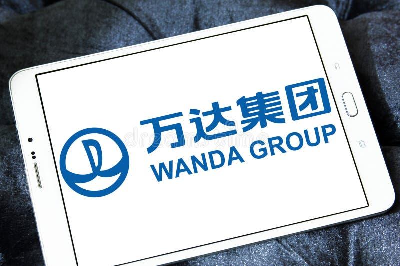 Logotipo de Wanda Group imagen de archivo