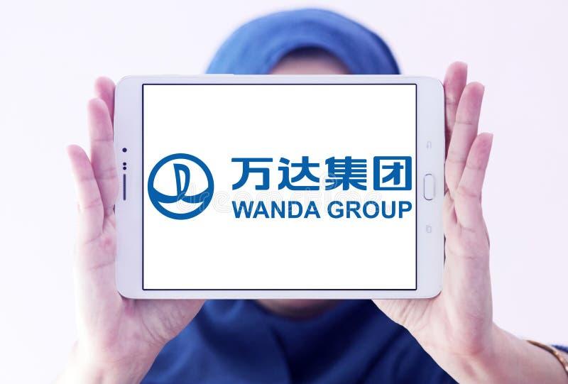 Logotipo de Wanda Group imagenes de archivo