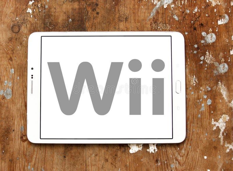 Logotipo de Wii foto de stock royalty free