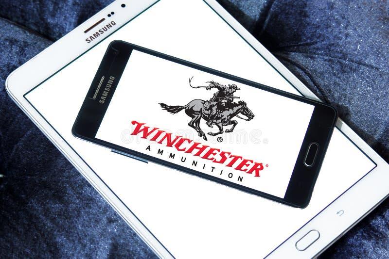 Logotipo de Winchester Arms Company fotografía de archivo