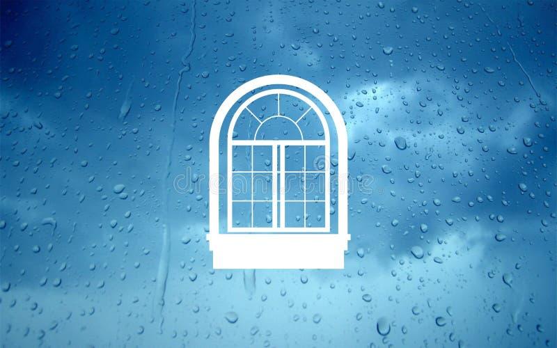 Logotipo de Windows imagens de stock royalty free