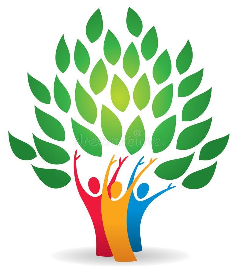 Logotipo del árbol de familia