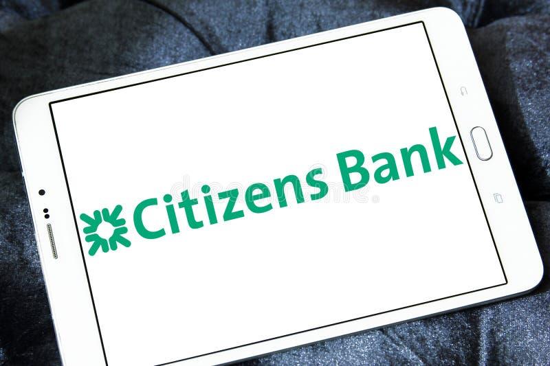 Logotipo del banco de los ciudadanos imagen de archivo
